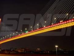 上海三思:璀璨灯光点亮杨浦大桥