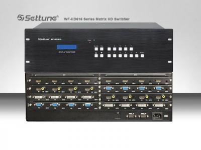 settune WF-HD1616无缝高清混合矩阵
