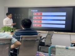中国联通多位领导人到清大视讯参观并指导工作